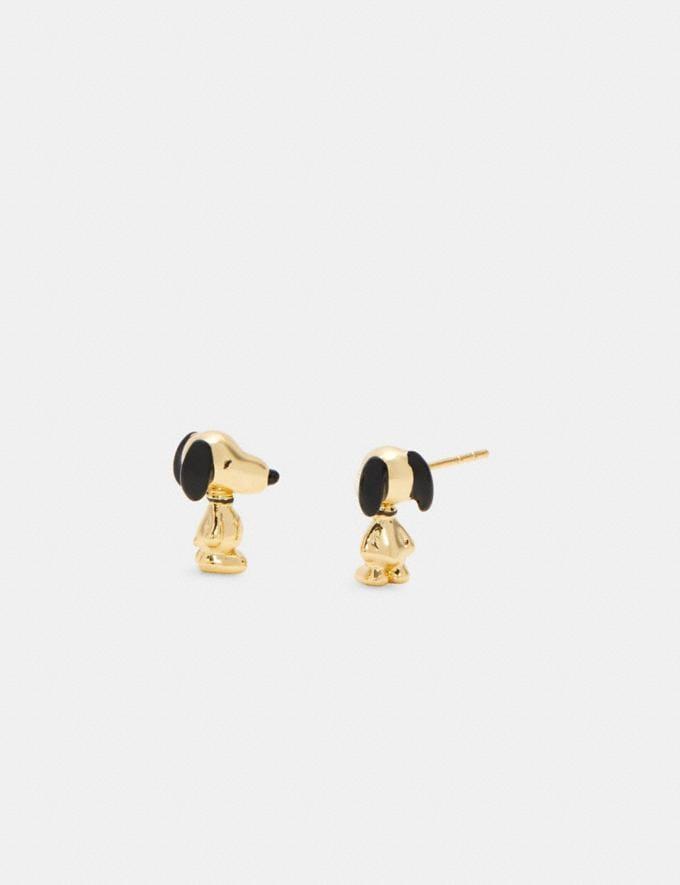 Coach Coach X Peanuts Snoopy Stud Earrings Set Gd/Multicolor DEFAULT_CATEGORY