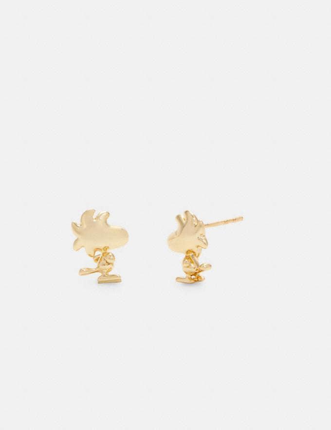 Coach Coach X Peanuts Woodstock Stud Earrings Set Gd/Multicolor DEFAULT_CATEGORY
