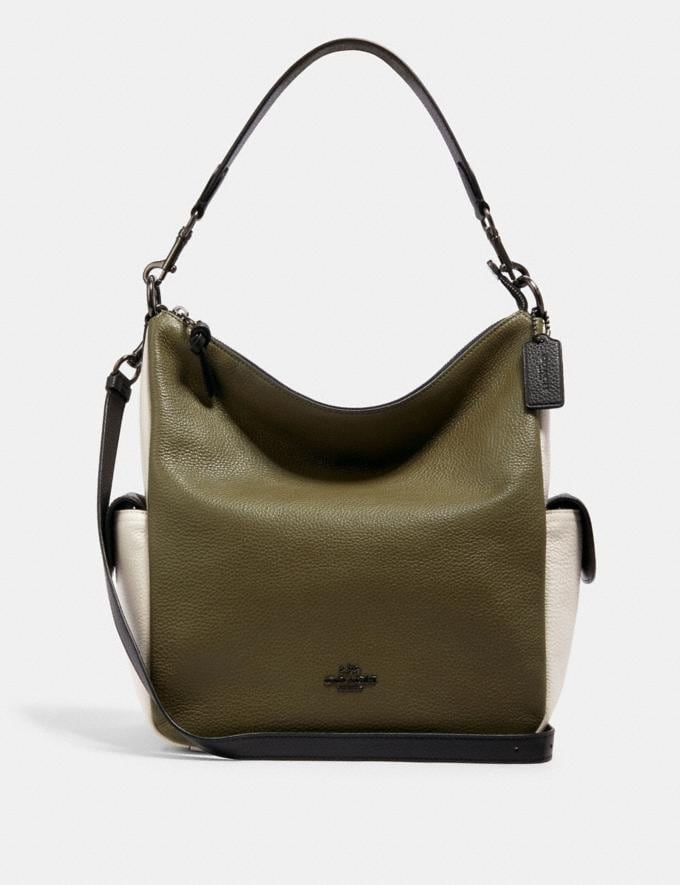 Coach Pennie Shoulder Bag in Colorblock Im/Chalk Multi DEFAULT_CATEGORY