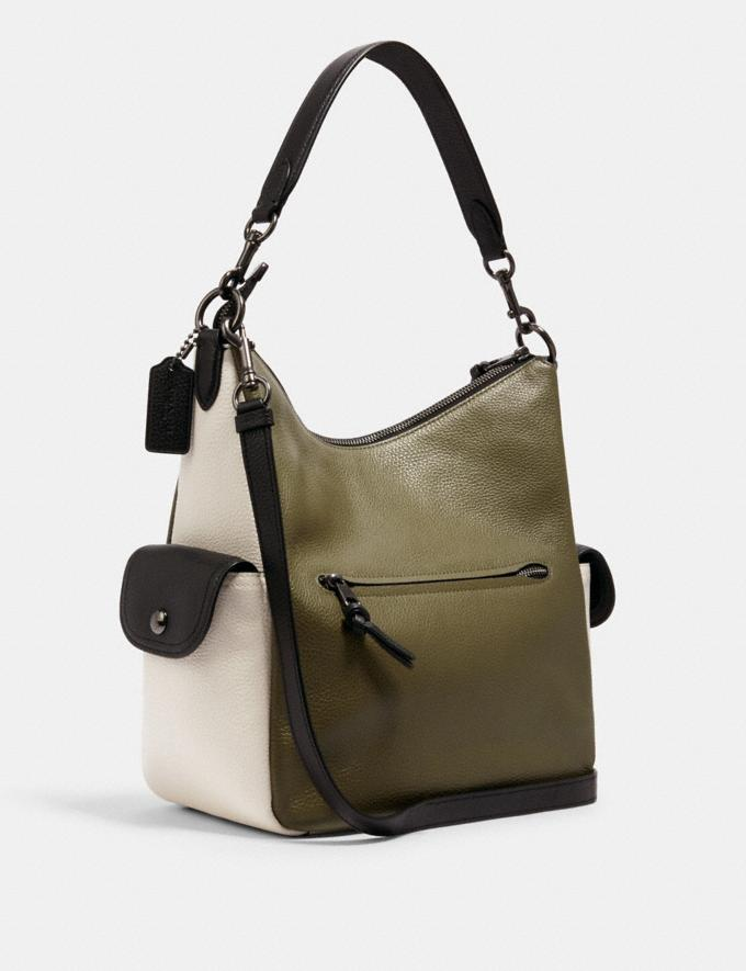Coach Pennie Shoulder Bag in Colorblock Im/Chalk Multi DEFAULT_CATEGORY Alternate View 1