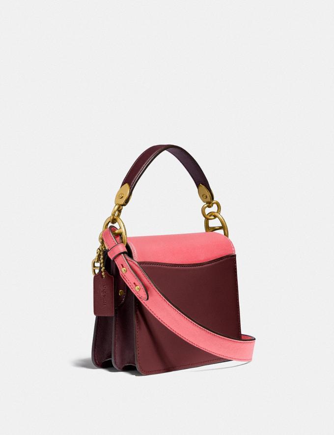 Coach Beat Shoulder Bag 18 in Colorblock B4/Taffy Blk Cherry Mutli New Women's New Arrivals Bags Alternate View 1