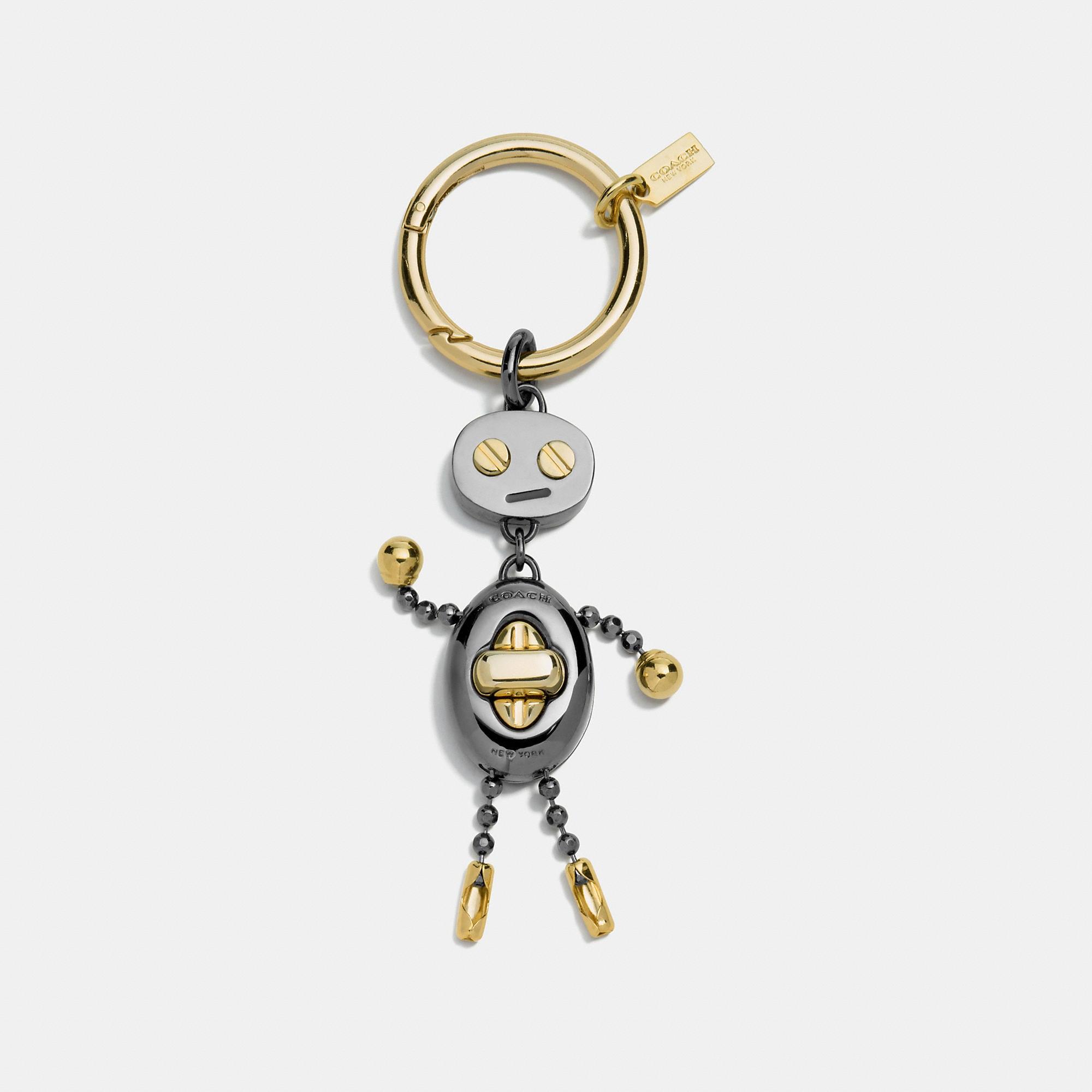 Coach Robot Key Ring