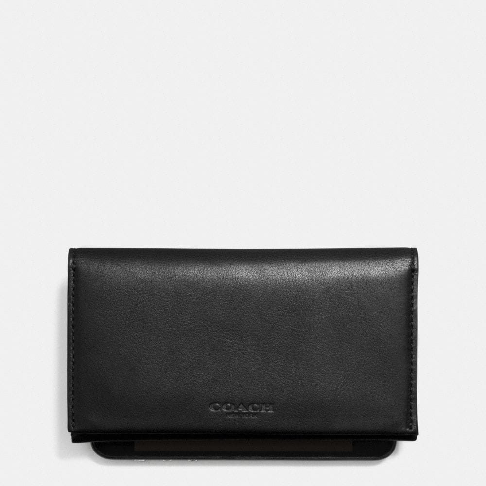 BIFOLD PHONE CASE IN SPORT CALF LEATHER