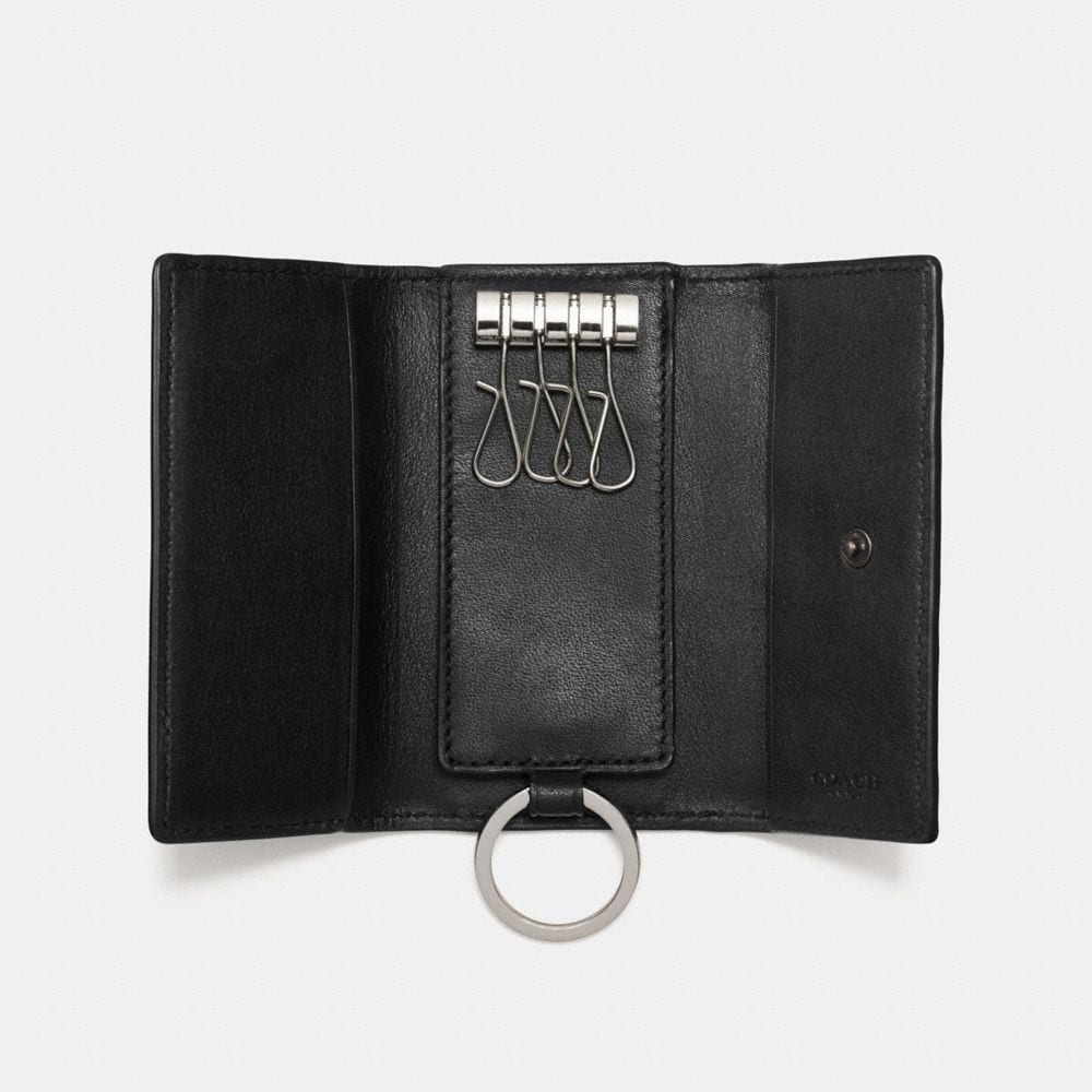Coach Four Ring Key Case Alternate View 1