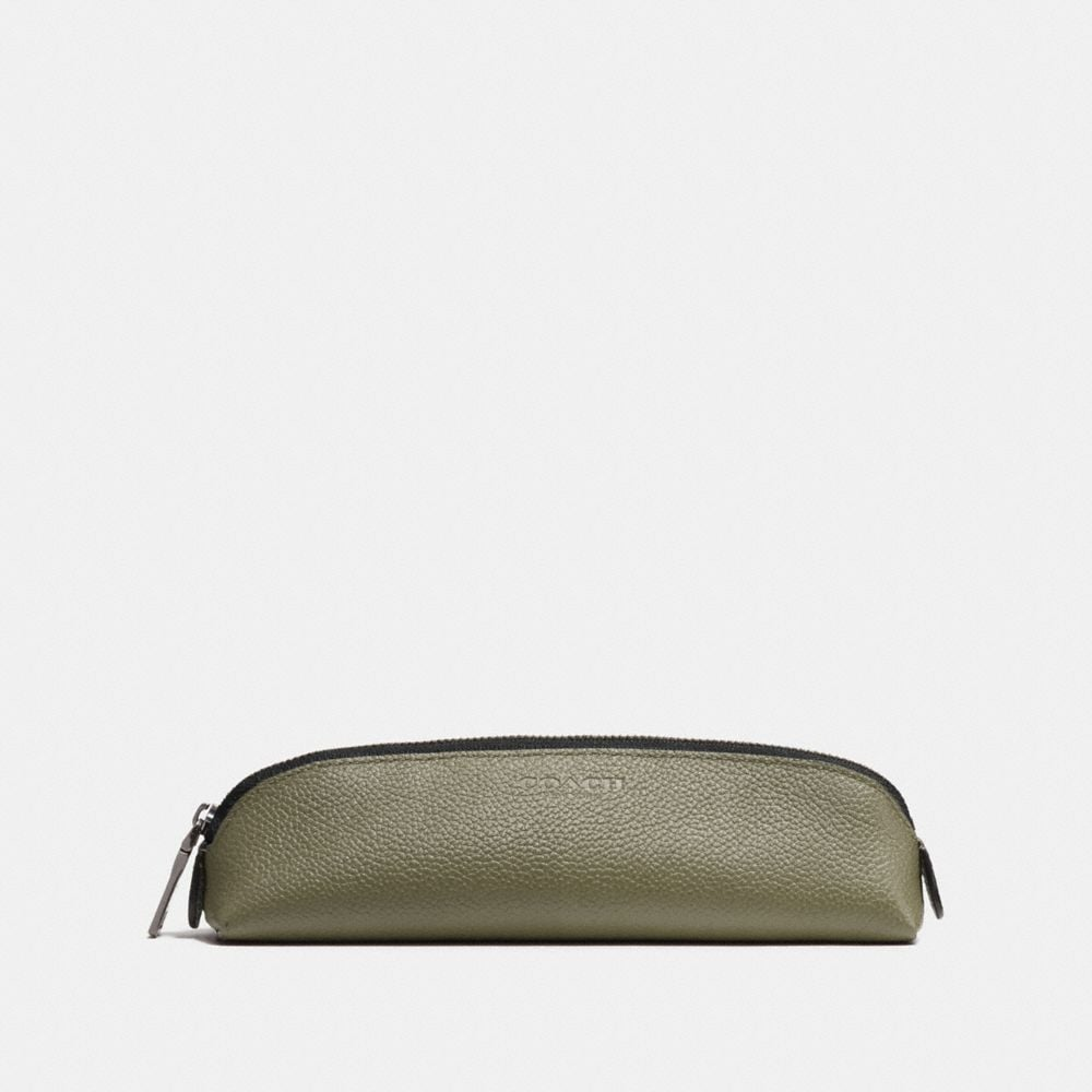 Pencil Case in Refined Pebble Leather