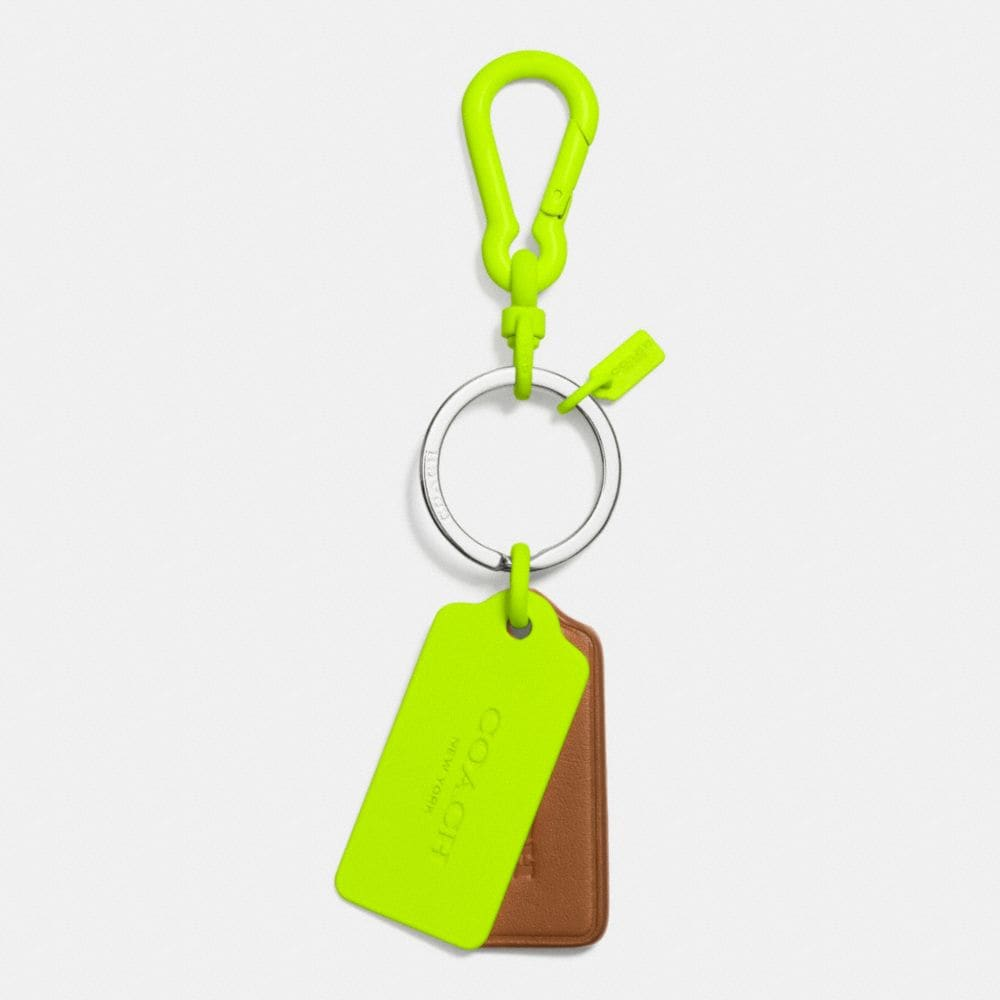 C.O.A.C.H. NOVELTY MULTI HANGTAG KEY RING