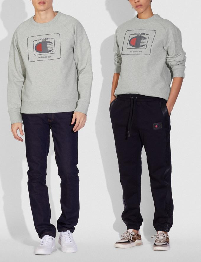 Coach Sweat-Shirt Coach X Champion Gris ChinÉ  Autres affichages 1