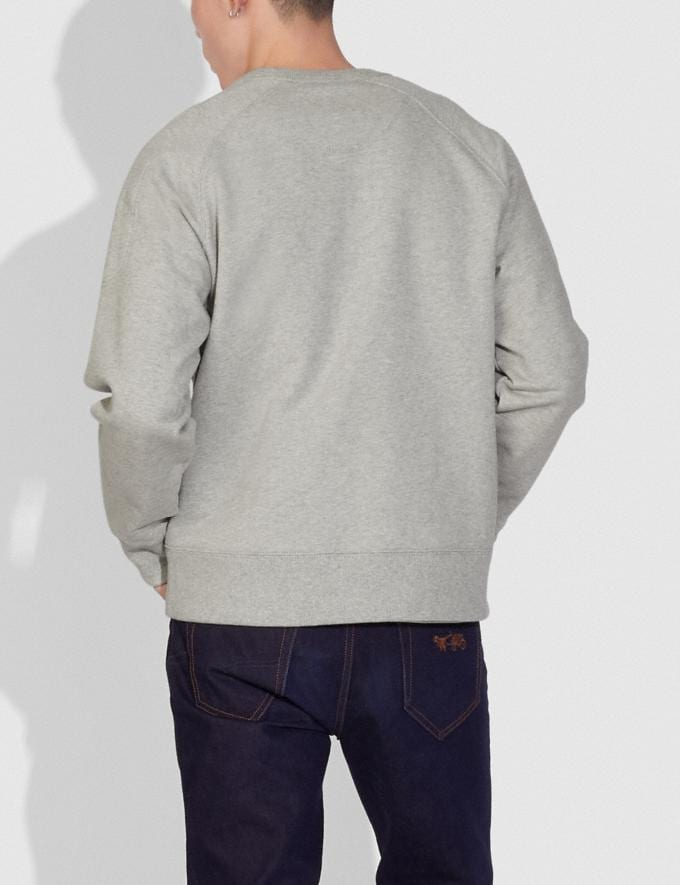 Coach Sweat-Shirt Coach X Champion Gris ChinÉ  Autres affichages 2