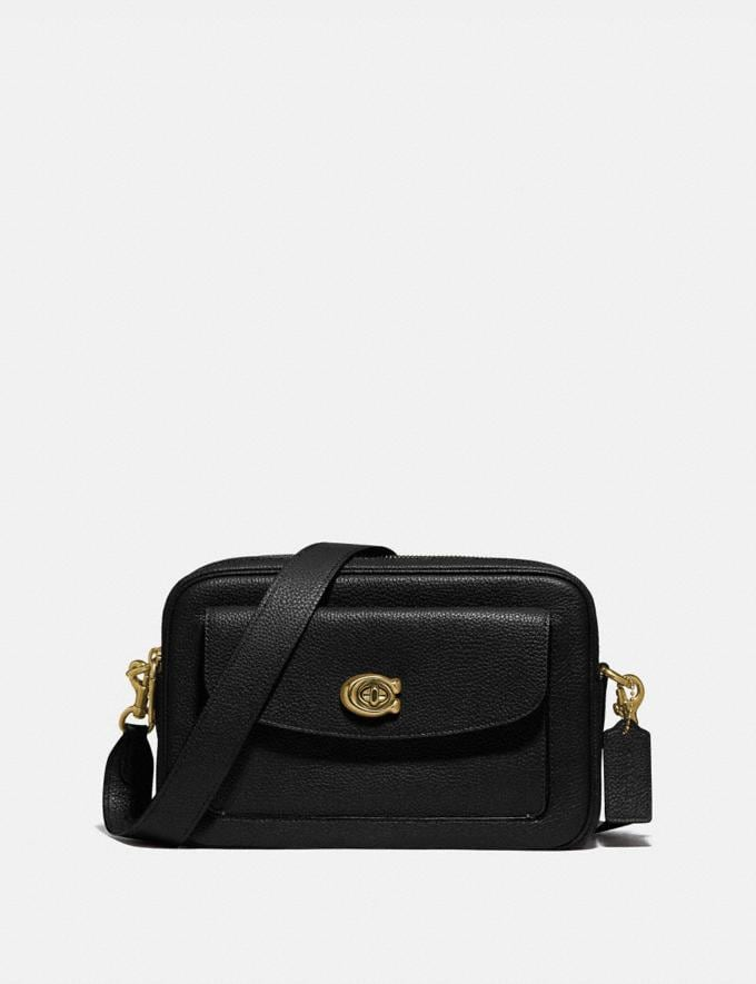 Coach Cassie Camera Bag B4/Black Women Bags Shoulder Bags