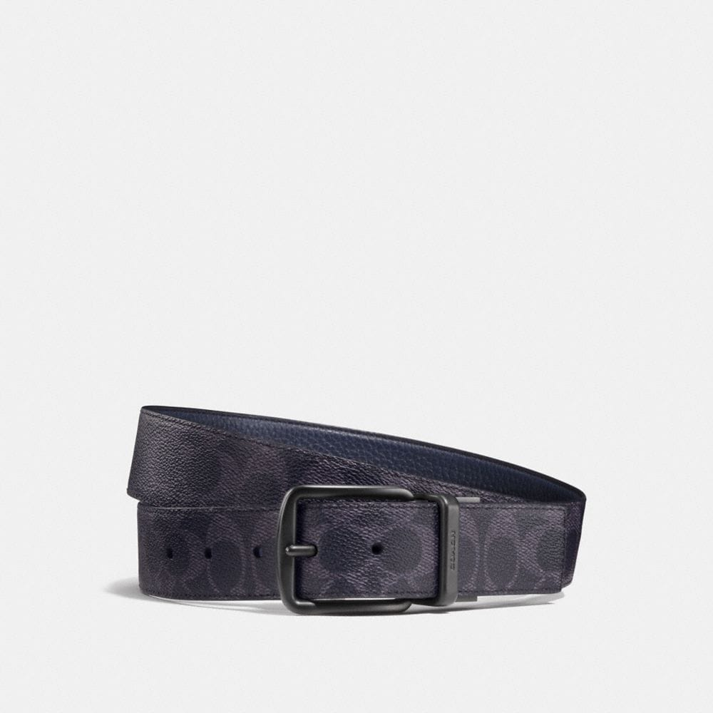 WIDE HARNESS CUT-TO-SIZE REVERSIBLE SIGNATURE BELT