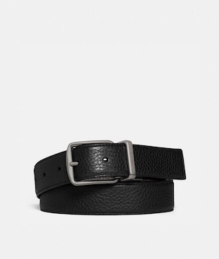 HARNESS BUCKLE CUT-TO-SIZE REVERSIBLE BELT, 30MM