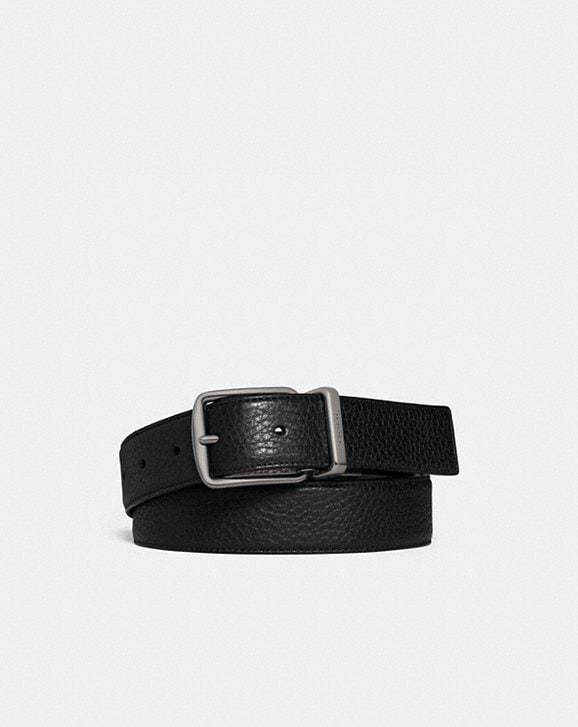 Coach HARNESS BUCKLE CUT-TO-SIZE REVERSIBLE BELT, 30MM