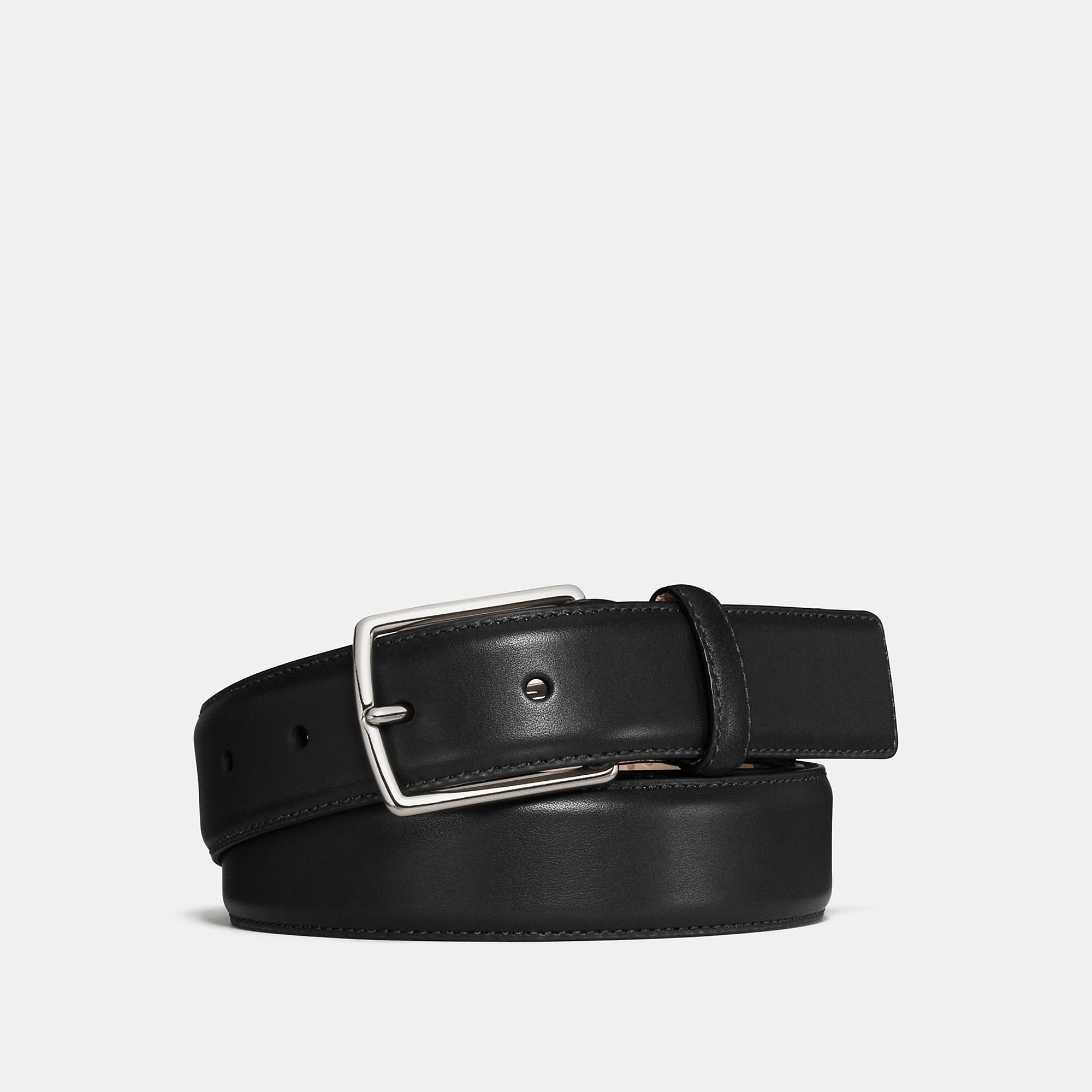 Coach Modern Harness Smooth Leather Belt