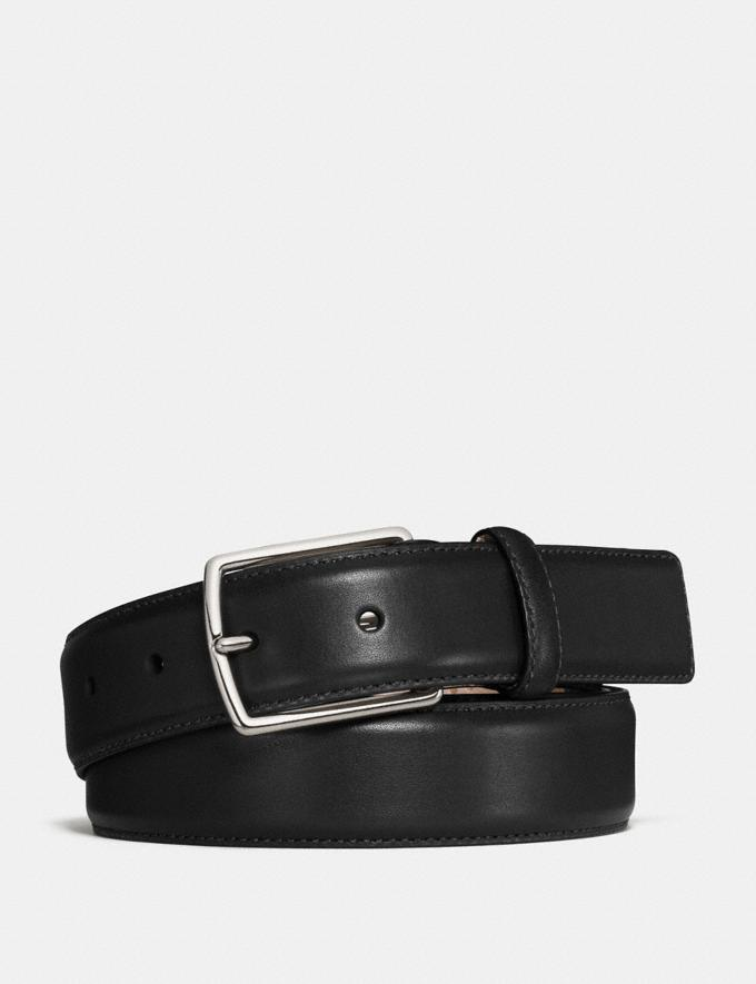 Coach Modern Harness Belt Black Men Accessories Belts