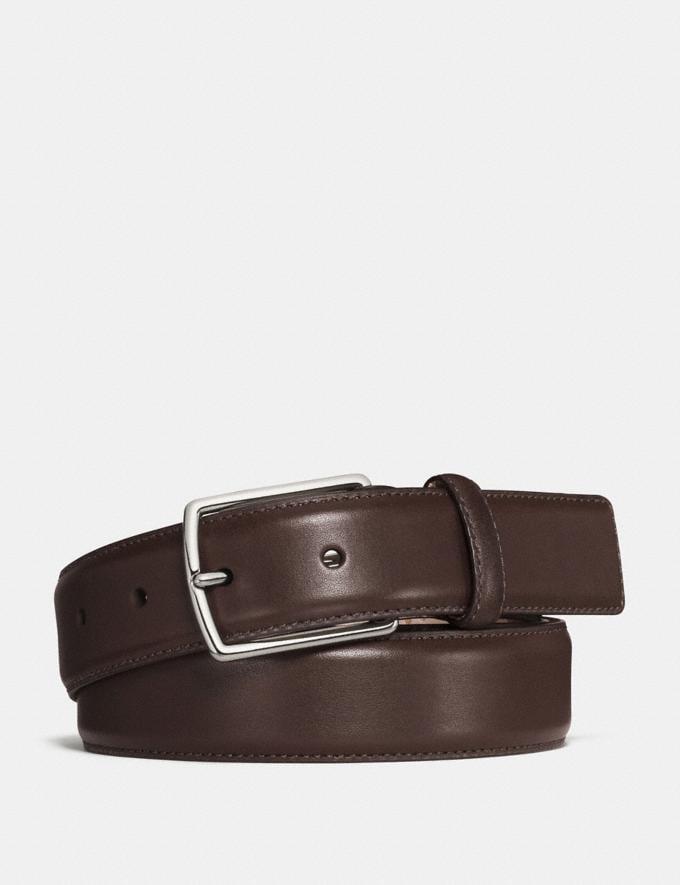 Coach Modern Harness Belt Dark Brown DEFAULT_CATEGORY