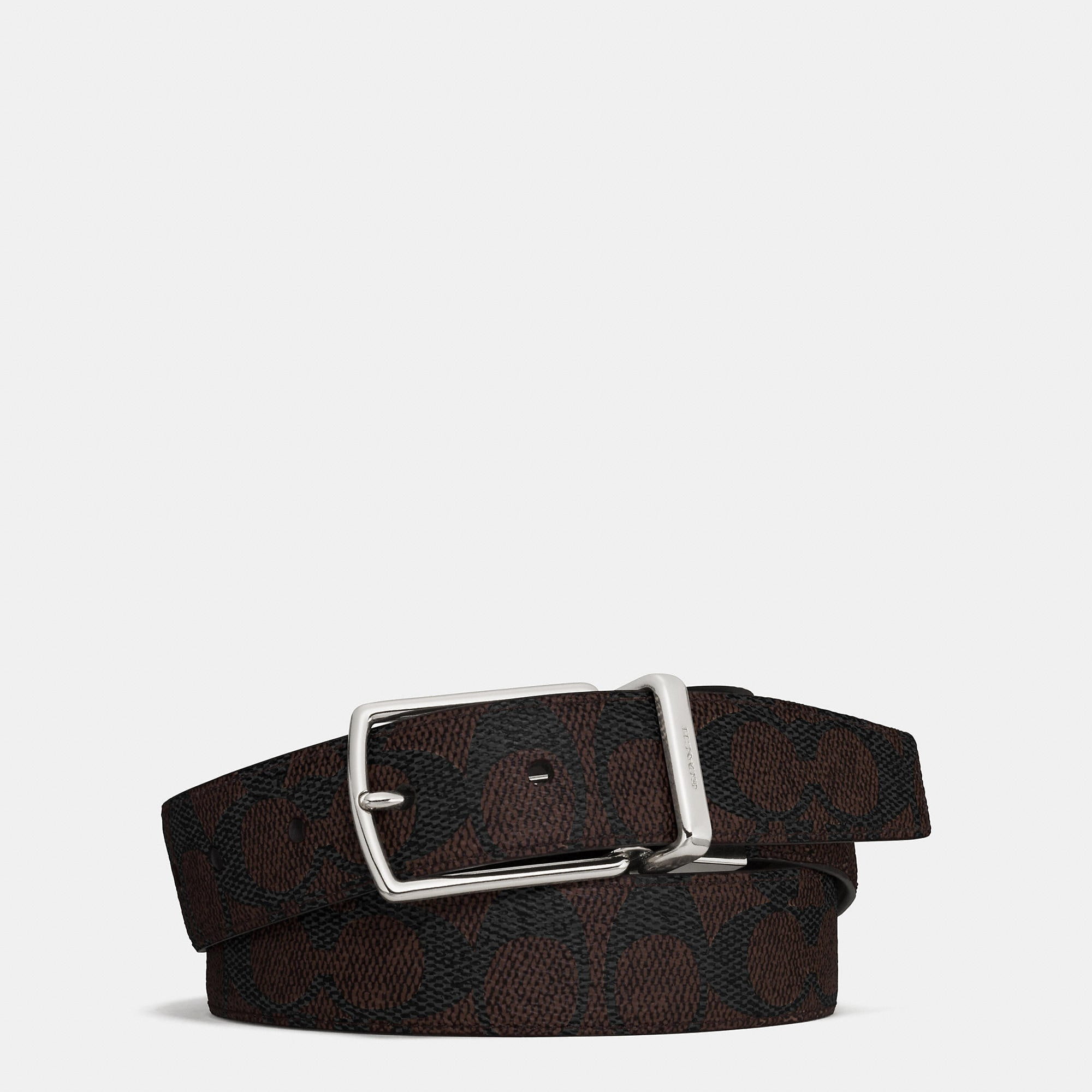 Coach Modern Harness Cut-To-Size Reversible Signature Belt