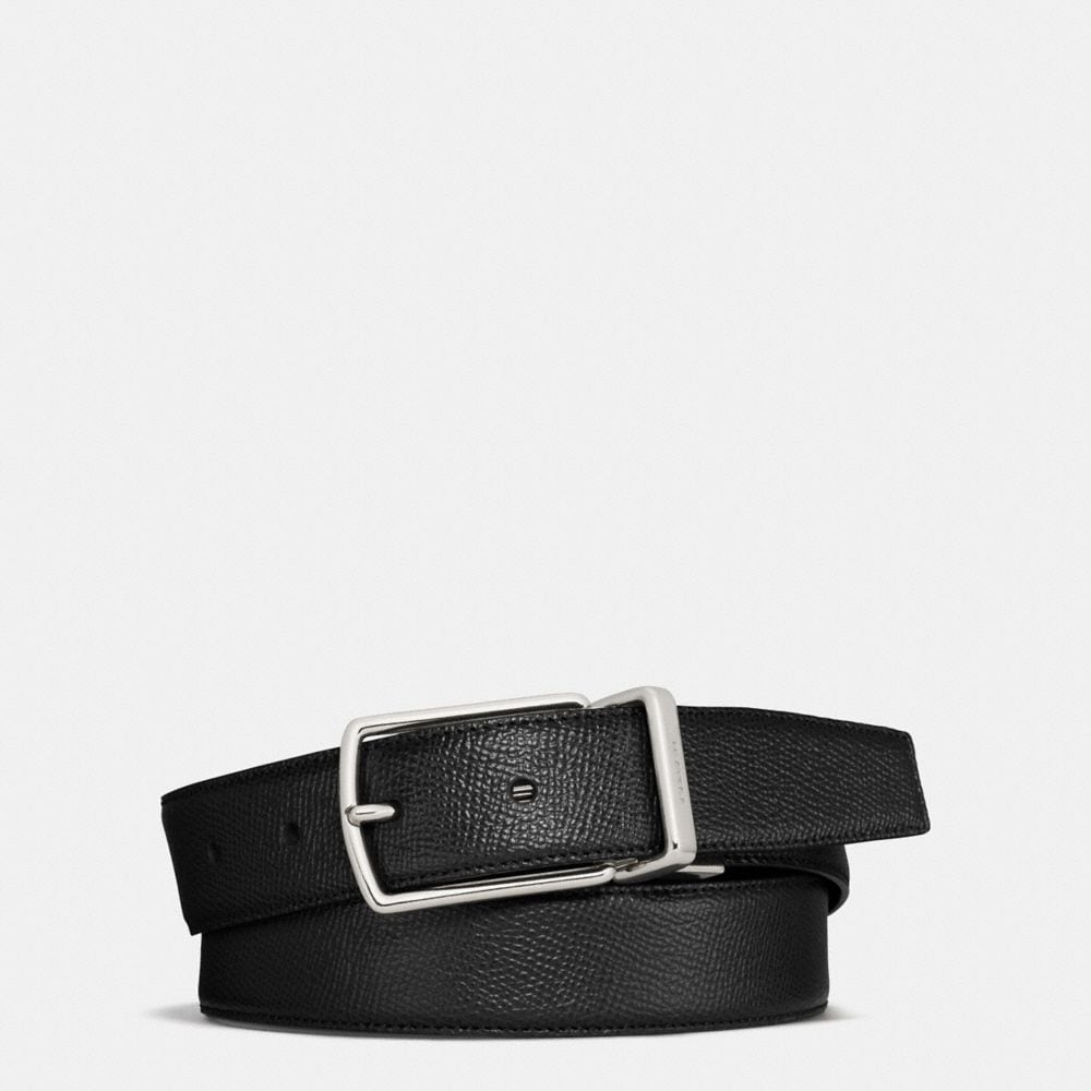 Coach Modern Harness Cut-To-Size Reversible Textured Leather Belt