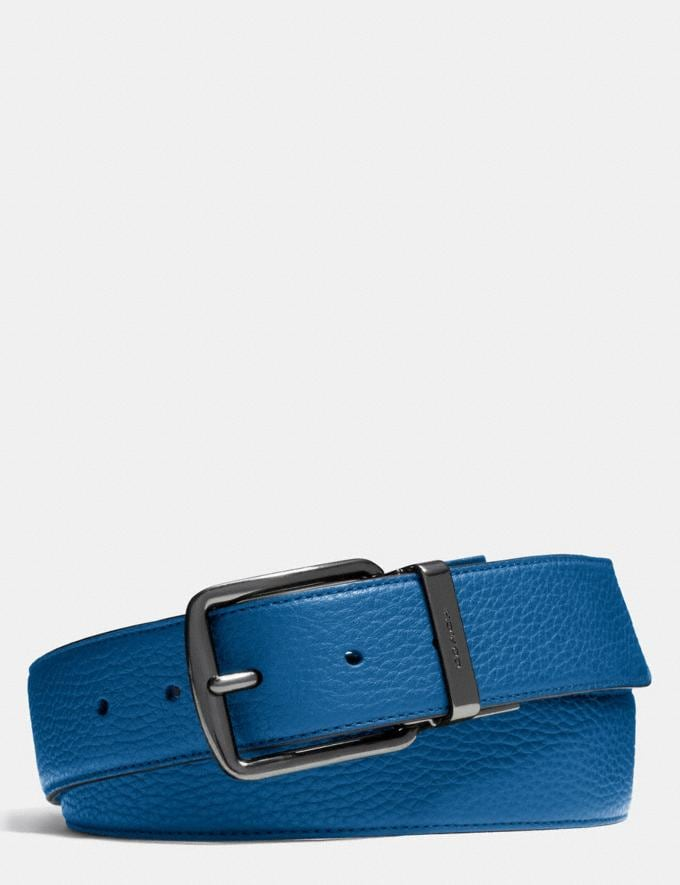 Coach Wide Regular Cut-To-Size Reversible Leather Belt Black/Mahogany DEFAULT_CATEGORY