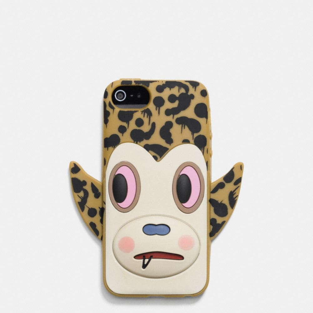 COACH X BASEMAN BUSTER WILD BEAST IPHONE 6 CASE IN SILICONE