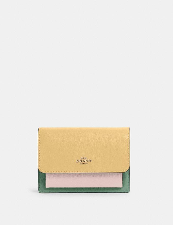 Coach Foldover Belt Bag Im/Vanilla Cream Multi DEFAULT_CATEGORY