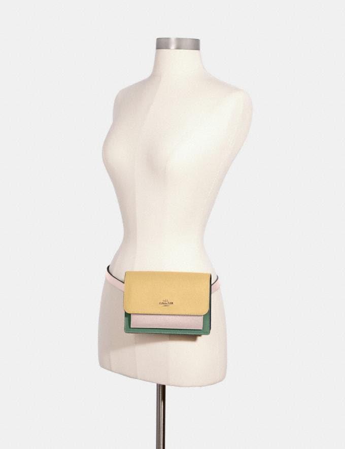 Coach Foldover Belt Bag Im/Vanilla Cream Multi DEFAULT_CATEGORY Alternate View 3