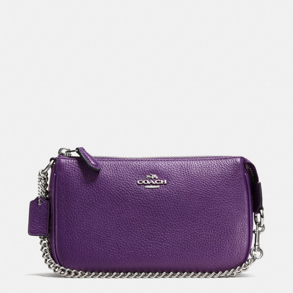 Coach  Nolita Wristlet 19 in Polished Pebble Leather