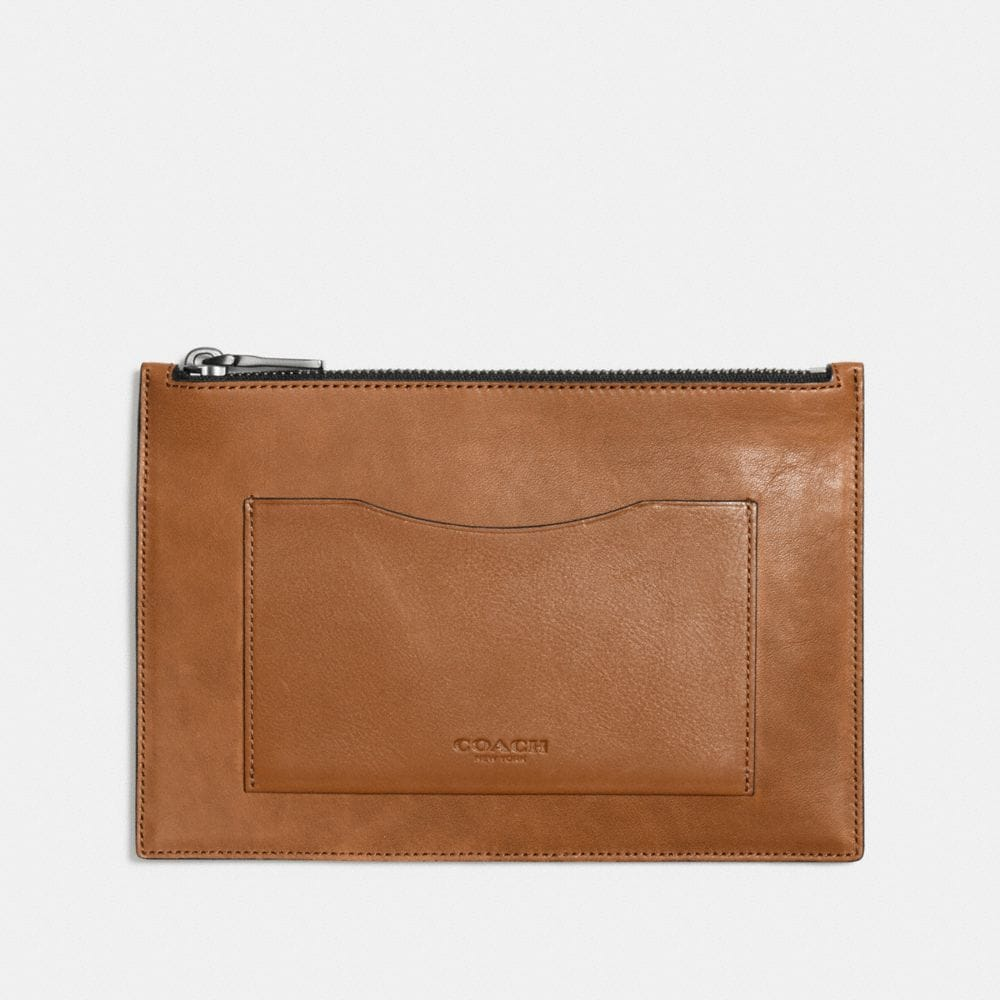 TECH ENVELOPE IN SPORT CALF LEATHER