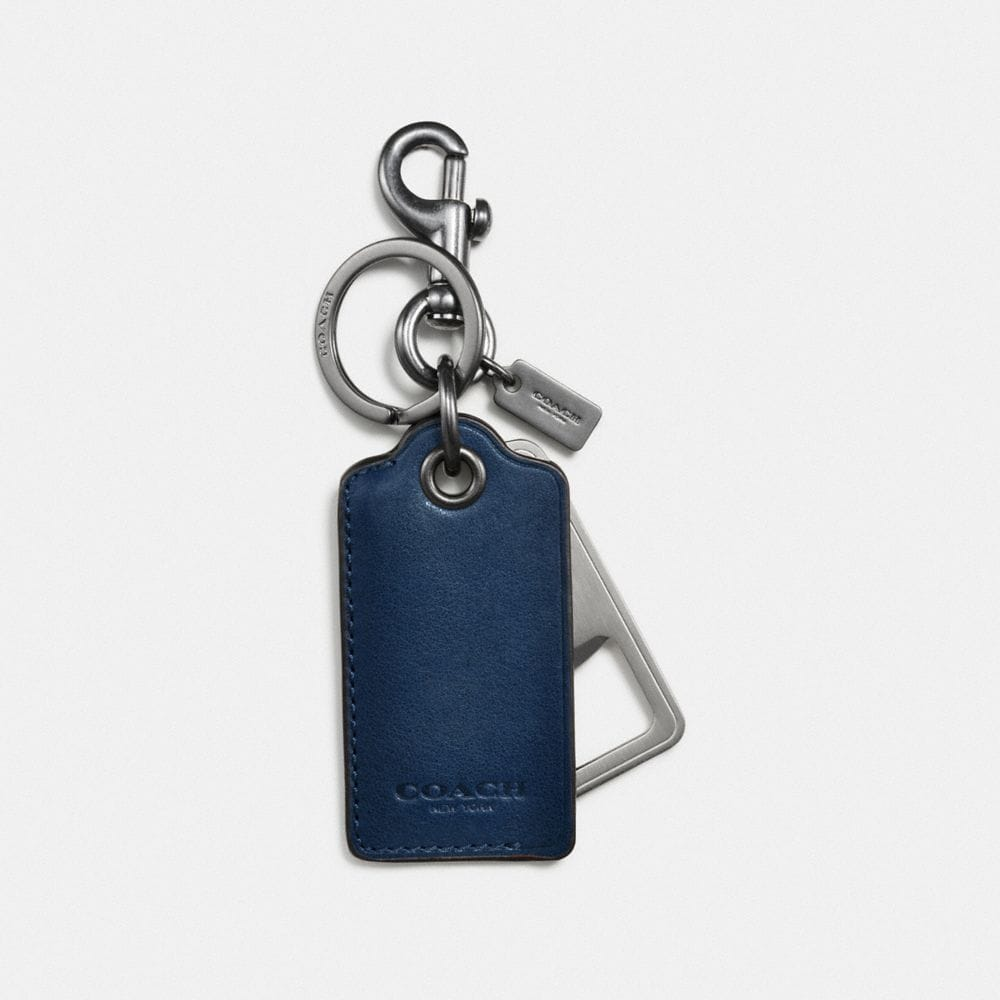 Coach Bottle Opener Key Ring