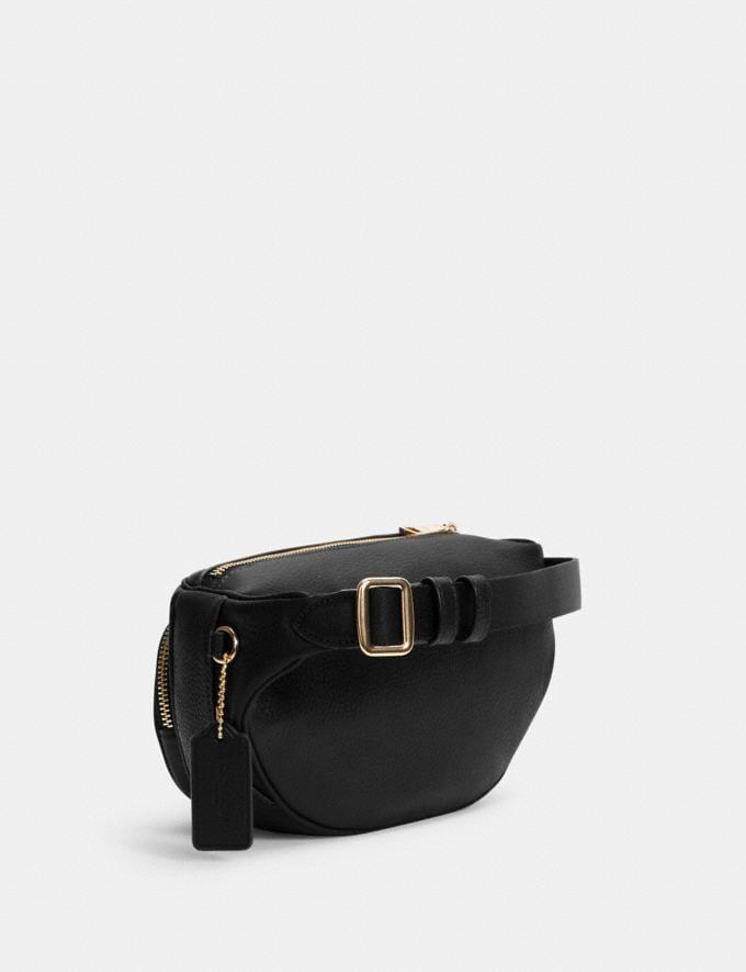 Coach Court Belt Bag Im/Black Translations 9.3 Outlet sale and back in stock Alternate View 1