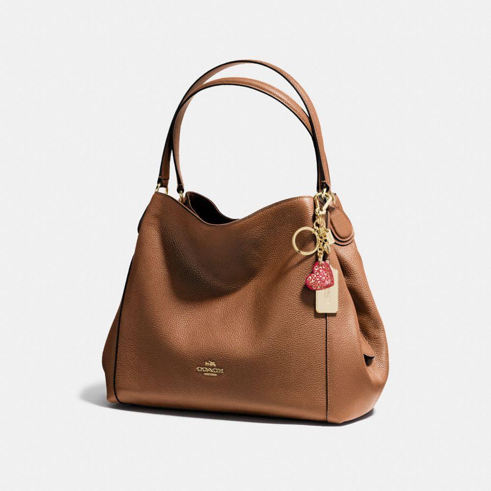 Coach Resin Sprinkle Signature Heart Bag Charm Alternate View 1