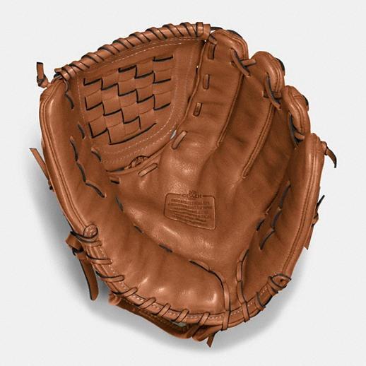 Baseball Glove Repair : Coach mens accessories leather baseball glove