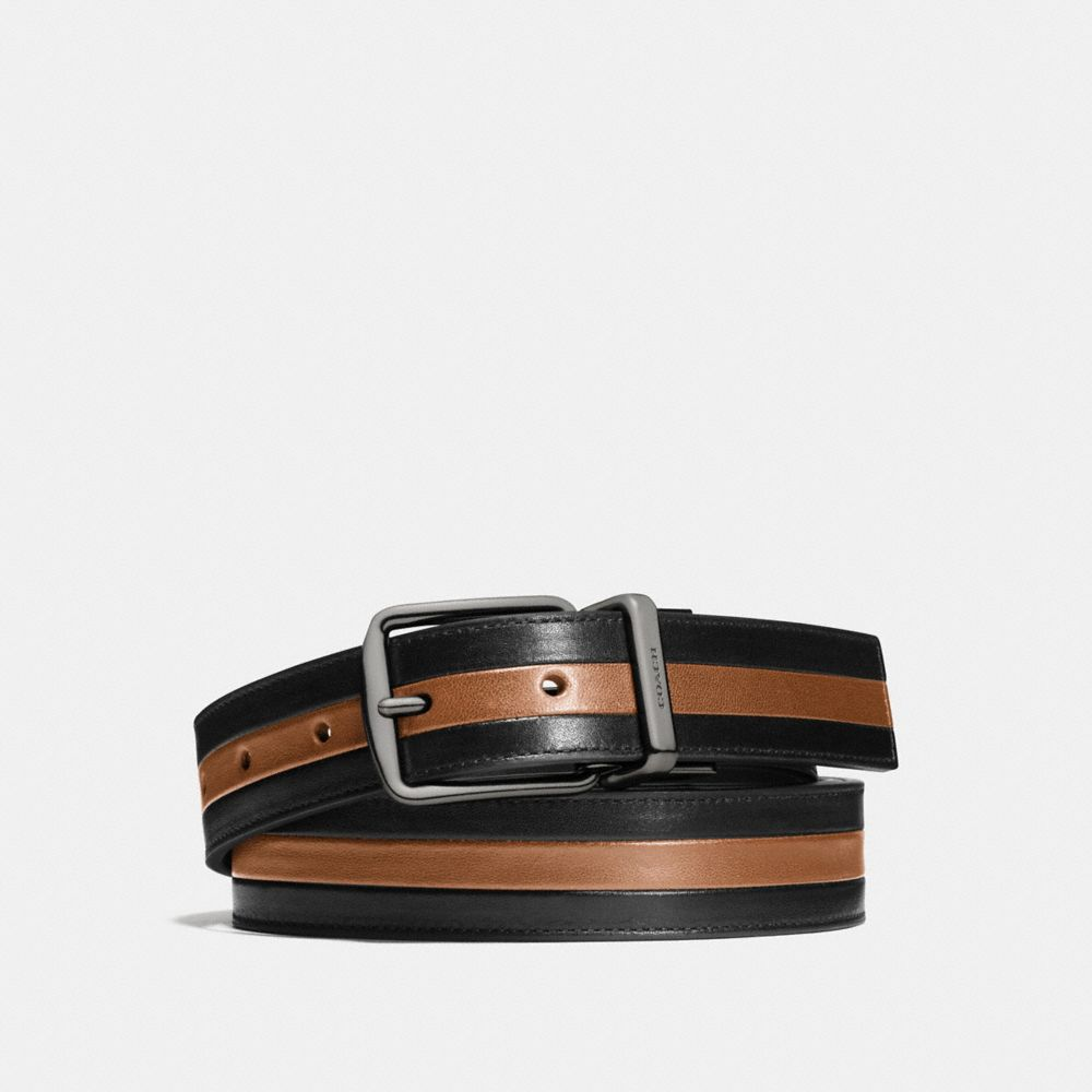 Modern Varsity Stripe Cut-To-Size Reversible Belt