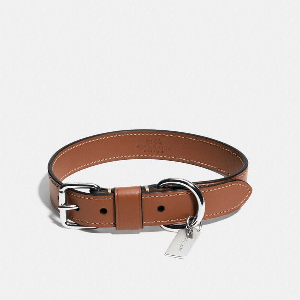 Large Leather Dog Collar