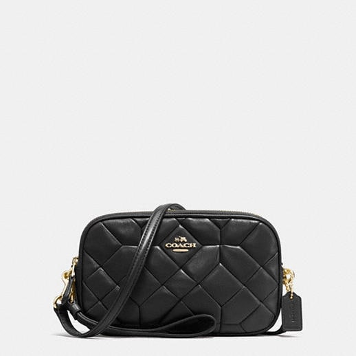 Coach Designer Cases Crossbody Clutch In Canyon Quilt