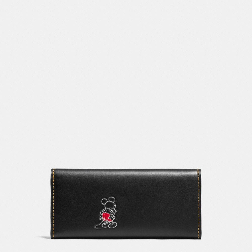 Mickey Turnlock Wallet in Smooth Leather - Autres affichages A1