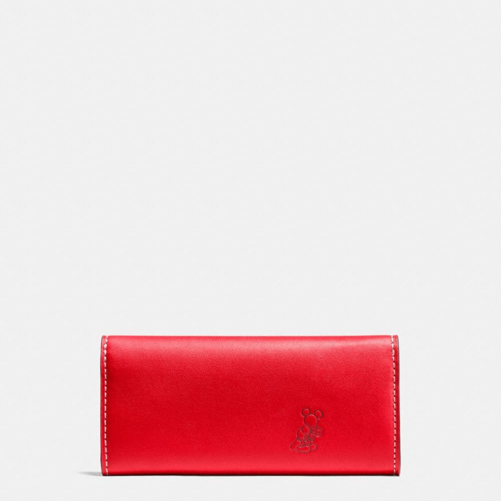 MICKEY TURNLOCK WALLET IN SMOOTH LEATHER - Alternate View A1