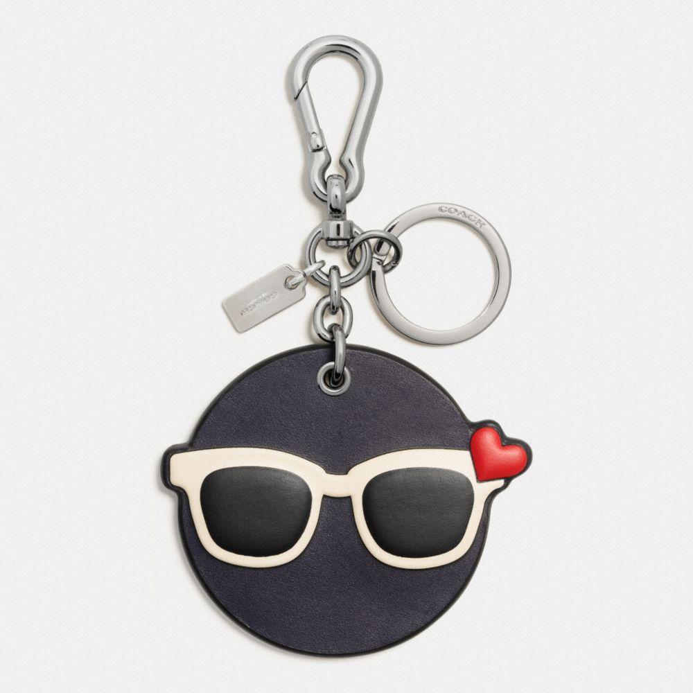 Shady Emoji Bag Charm
