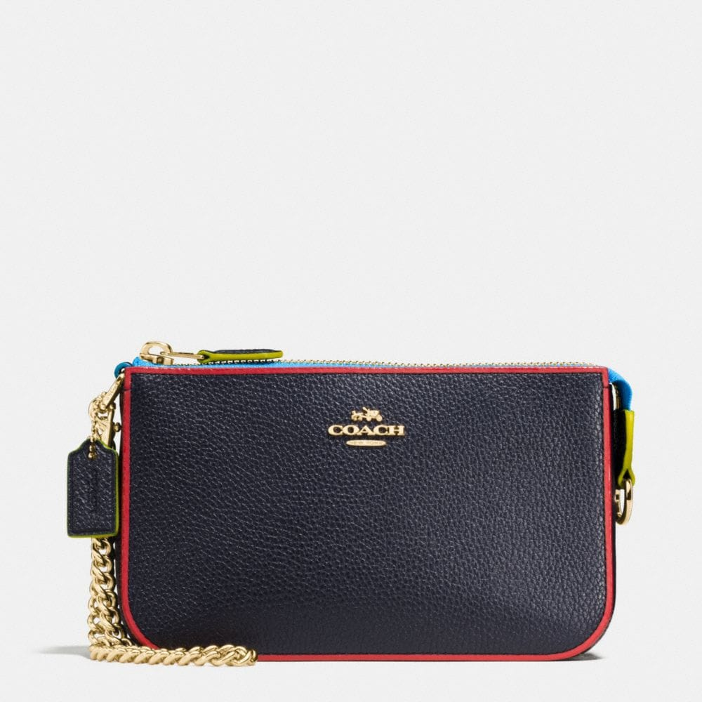 NOLITA WRISTLET 19 IN EDGESTAIN LEATHER