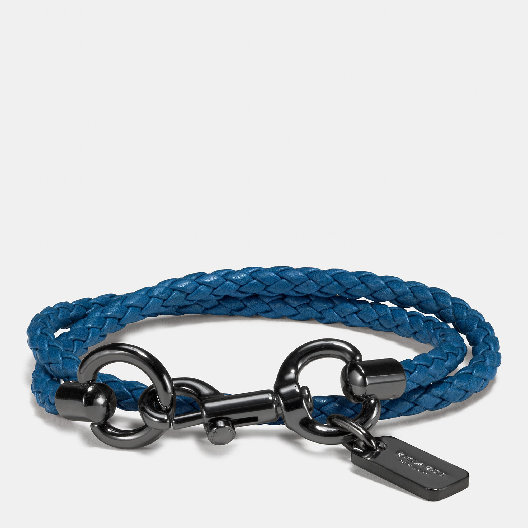 Coach Leather Dog Leash Wrap Bracelet