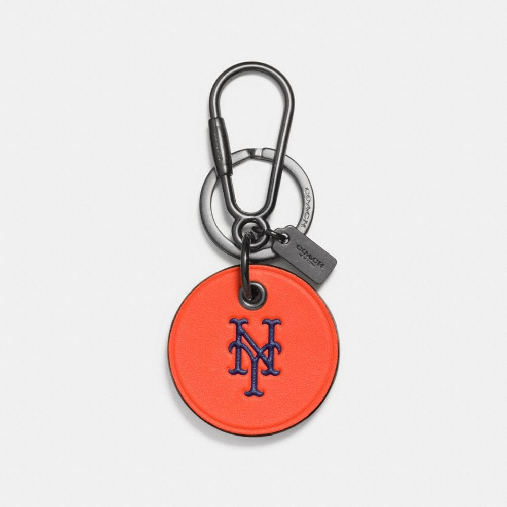 Mlb Round Logo Key Ring