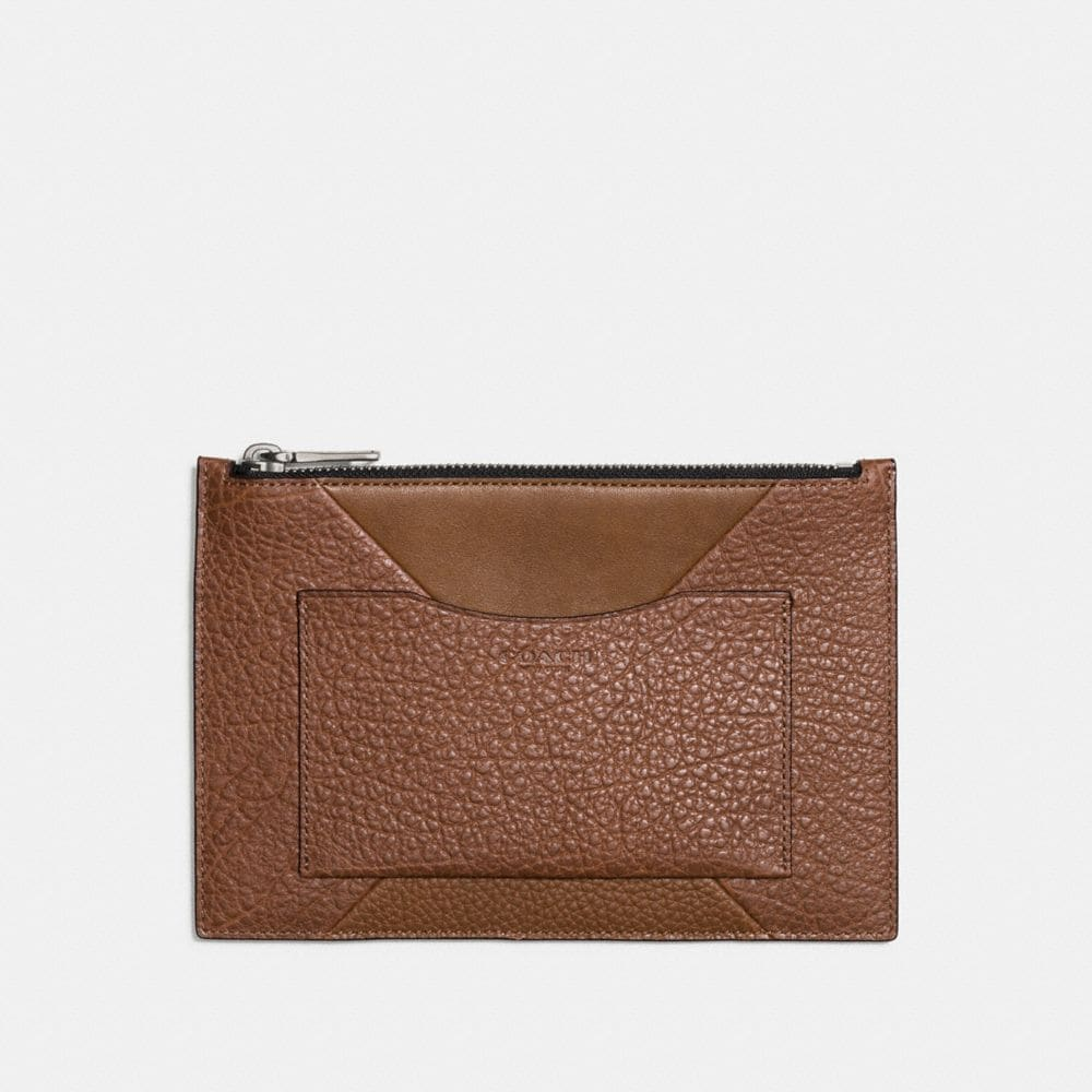 Coach Tech Envelope With Patchwork