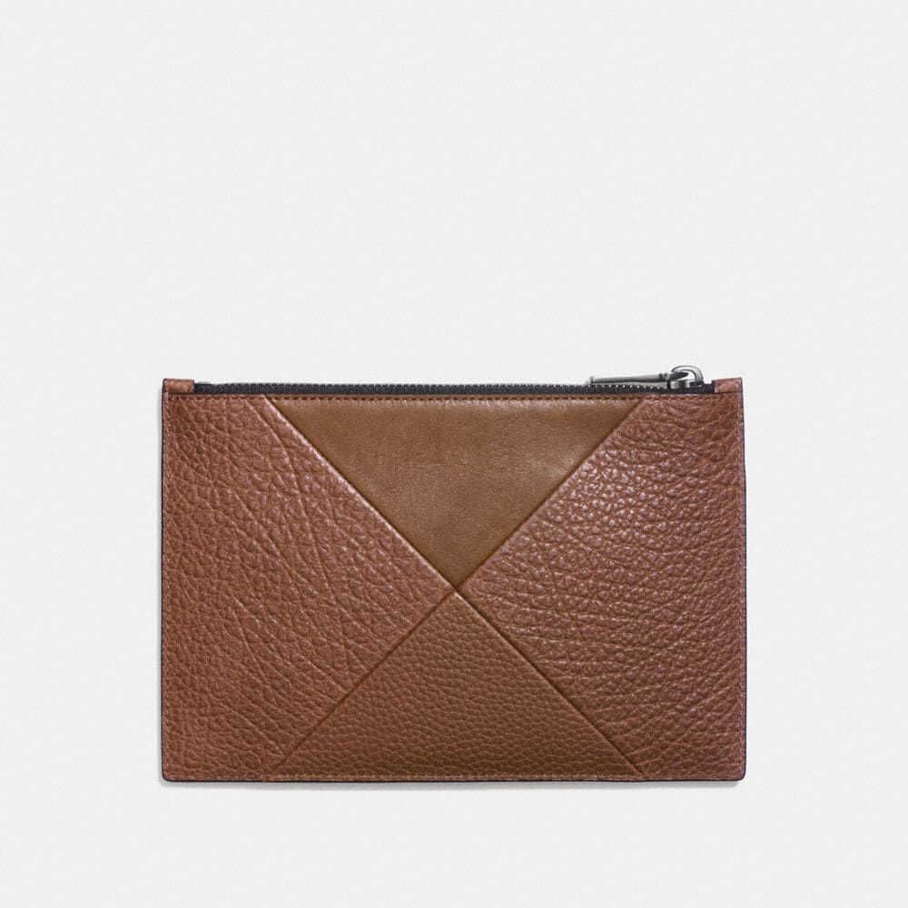 Coach Tech Envelope With Patchwork Alternate View 1
