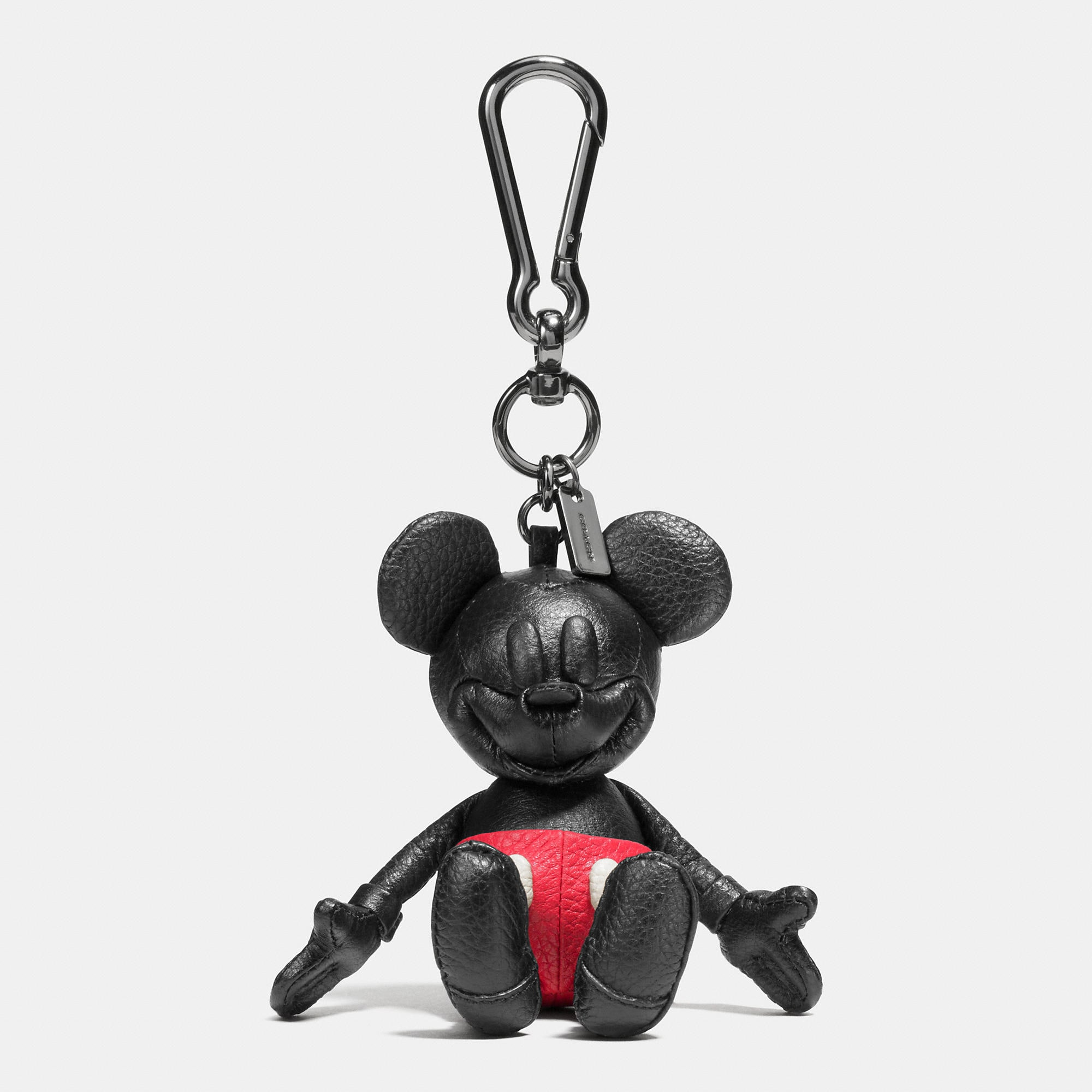 Coach Mickey Bag Charm - Disney