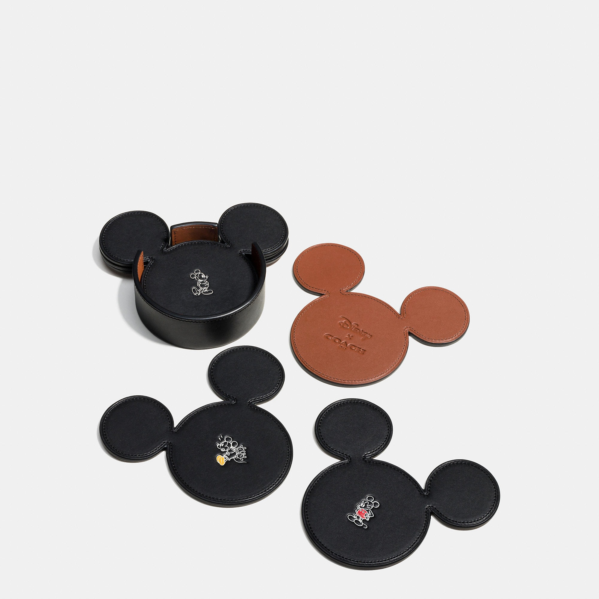 Coach Mickey Coaster Set - Disney