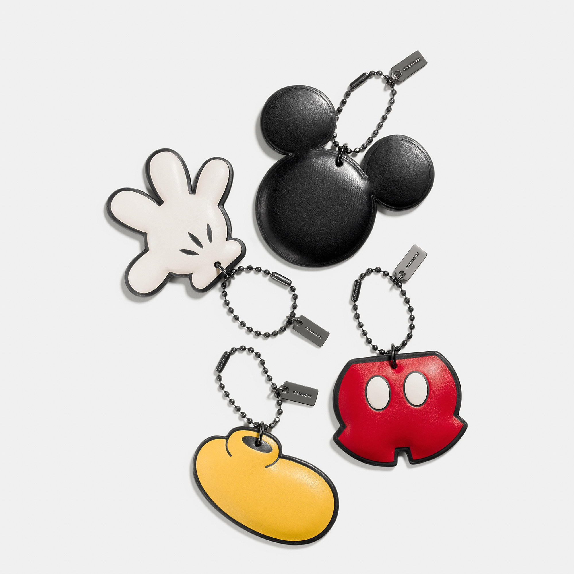 Coach Mickey Hangtag Set - Disney