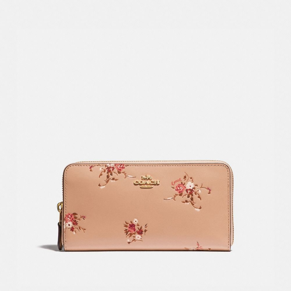 beechwood floral/gold