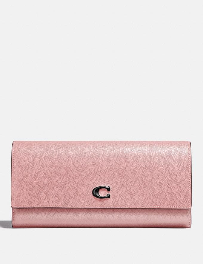 Coach Envelope Wallet Blossom/Pewter New Women's New Arrivals Small Leather Goods