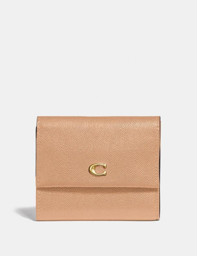 Coach Portemonnaie Mit Kleinem Umschlag B4/Beechwood PRIVATER SALE Sale: Damen Portemonnaies und Taschen mit Handschlaufen