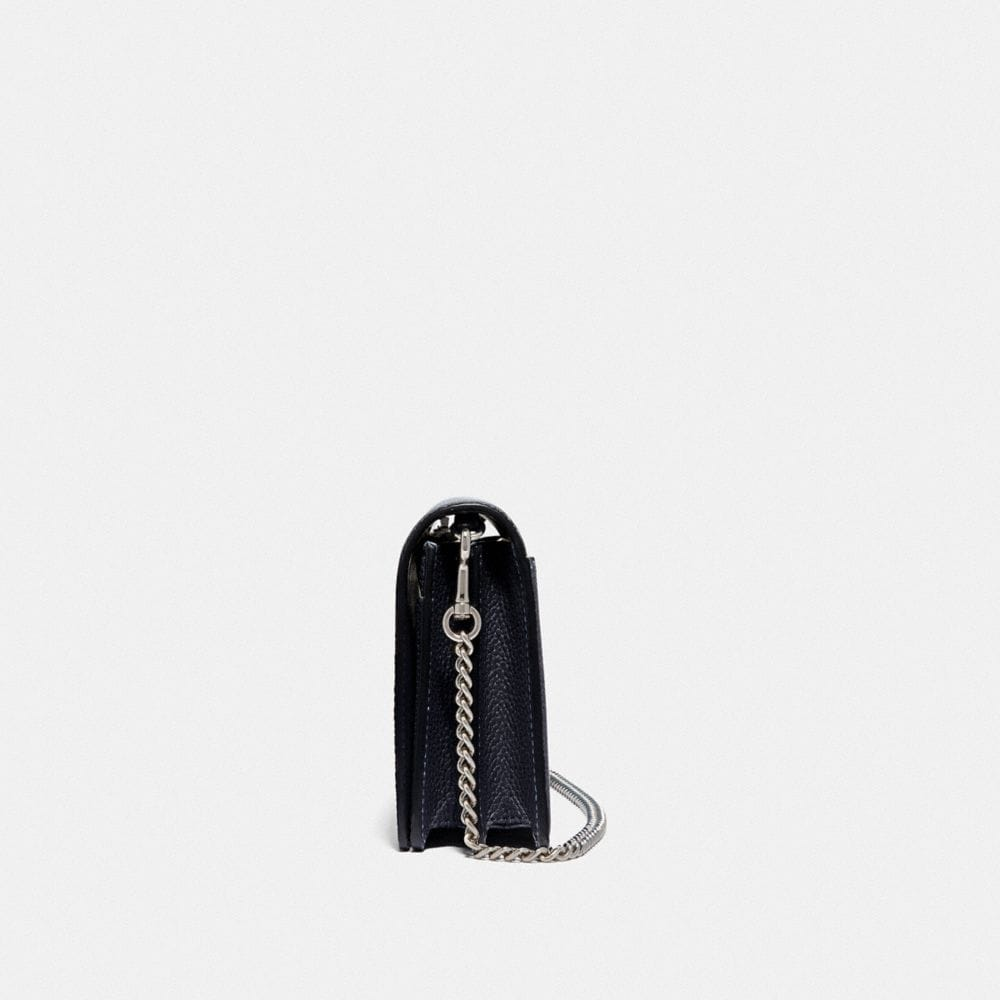 Coach CALLIE FOLDOVER CHAIN CLUTCH WITH OMBRE Alternate View 1