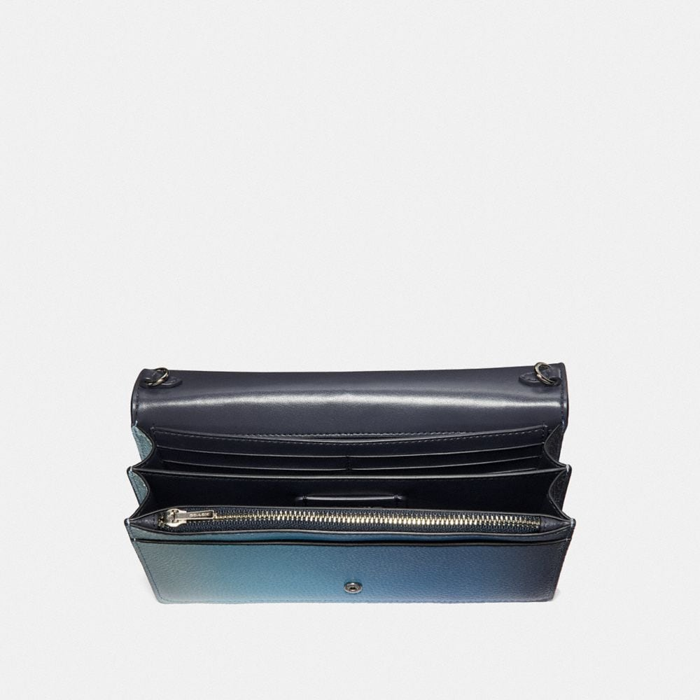 Coach CALLIE FOLDOVER CHAIN CLUTCH WITH OMBRE Alternate View 2